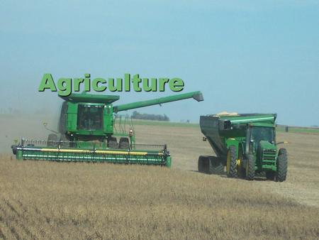 Agriculture. Arable Land  There is a decline in the amount of arable land.