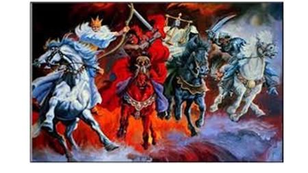 Revelation chapter 6 Where did all these horses come from!