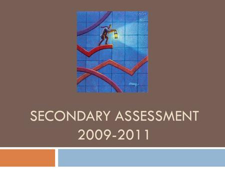 SECONDARY ASSESSMENT 2009-2011. Middle School  Acuity Predictive  SMART Goal Assessment  Common Assessment  SRI ( Communication Arts)  STAR Math.