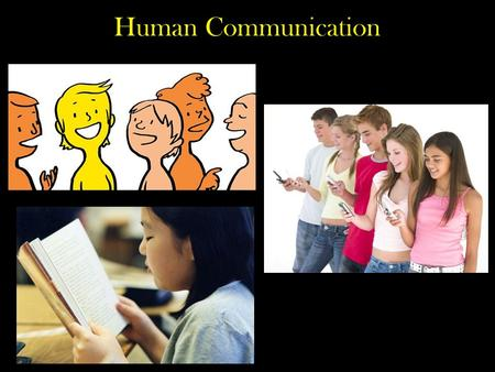 Human Communication.