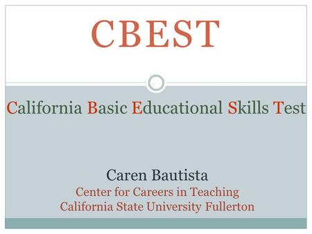 writing essay on cbest Cbest practice tests are an ideal way to prepare for your upcoming california basic educational skills test (cbest) the cbest exam is intended to measure basic math, reading, and writing skills of students who want to be educators in california.
