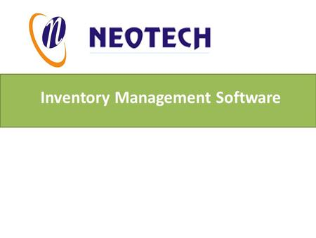 Inventory Management Software. Inventory Software is absolutely compatible and competent application to deal with inventory management of several commercial.