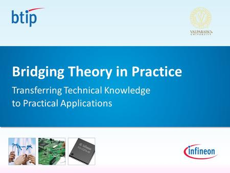 Bridging Theory in Practice Transferring Technical Knowledge to Practical Applications.