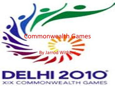 Commonwealth Games By Jarrod Withers. Archery Entries Recurve Compound Men - 3 Men - 3 Women - 3 Women - 3 Men Event Categories Recurve Individual Recurve.
