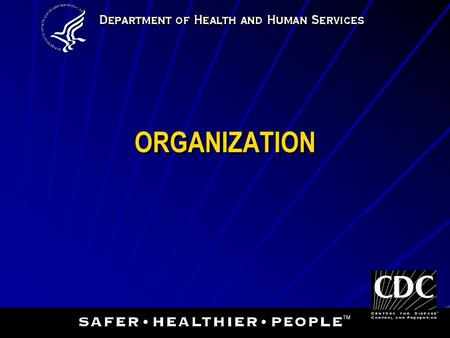 ORGANIZATION. 2 Purchasing & Inventory Assessment Occurrence Management Information Management Process Improvement Customer Service Facilities & Safety.