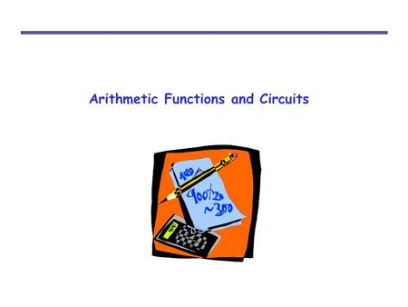 Arithmetic Functions and Circuits