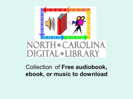 Collection of Free audiobook, ebook, or music to download.