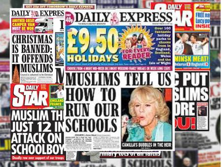 ISLAMOPHOBIA Prejudice, hatred or fear of Islam or Muslims WHY?