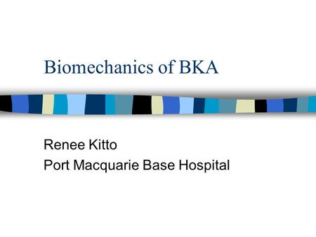 Renee Kitto Port Macquarie Base Hospital