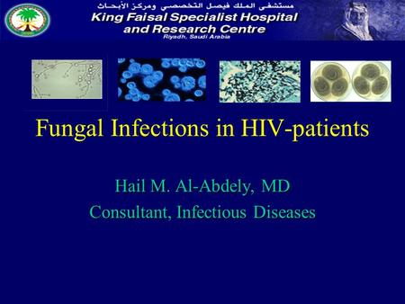 Fungal Infections in HIV-patients