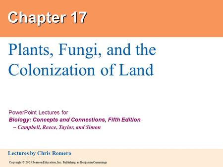 Plants, Fungi, and the Colonization of Land
