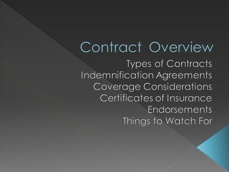 Design Lease Contracting for Services IT/Security Medical IGA Special Events Providing Services.