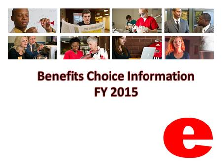 FY 2015 Changes Changes (listed on page 4 of the Benefits Choice book and page 2 of the flyer): – Deductibles and plan year deductible caps – Coinsurance.