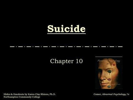 Suicide Chapter 10.