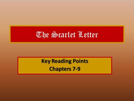 the scarlet letter chapter 7 chapter 7 summary for the scarlet letter sparklife 48686