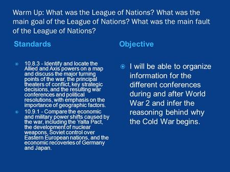 the cause of world war ii the great depression and the league of nations Many argue that world war ii, not the new deal, ended the depression the sizes of the us national debt and the current account deficit could trigger an economic crisis that would be difficult for monetary policy to fix.