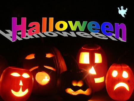 Halloween is traditionally celebrated on the night of 31st October, the night before All Saint's Day. Halloween is based on an ancient Celtic holiday.