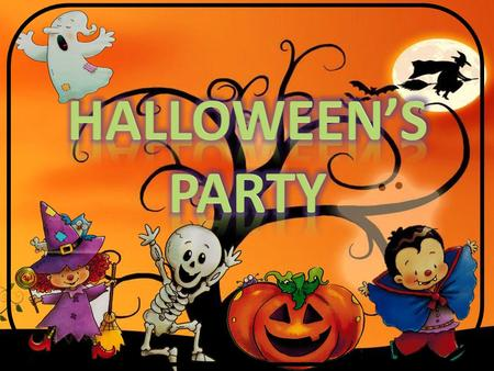 HALLOWEEN'S PARTY.