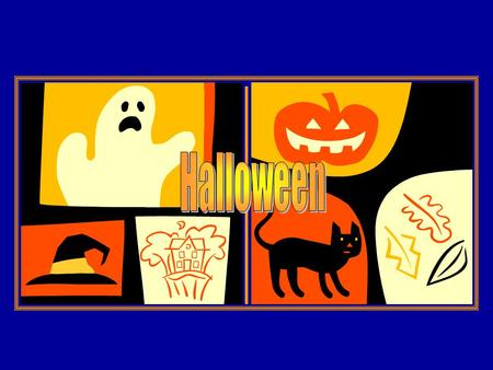 Halloween is __ holiday (1) in the UK, the USA and Ireland. People celebrate it __ (2) 31 October.