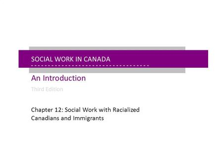 - - - - - - - - - - - - - - - - - - - - - - - - - - - - - - - - - - - - - - - - - - - - - - - - - - - - - Chapter 12: Anti-Racist Social Work Today Social.