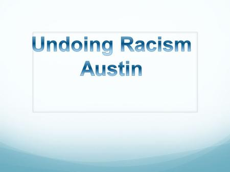 East Austin was created by legal segregation as a space for non-whites Communities of color flourished in East Austin for many years, both African American.