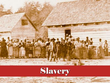 Perhaps no single issue divided America as did slavery
