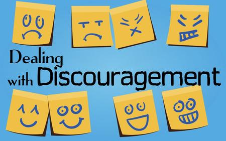 Rick Snodgrass. External Causes of Discouragement.