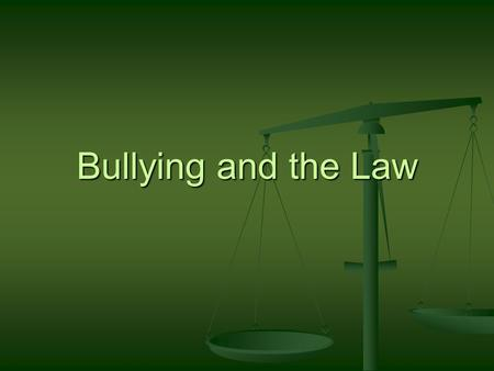 Bullying and the Law. Iowa Civil Rights Commission The state administrative agency which enforces the Iowa Civil Rights Act of 1965 (Chapter 216 of the.