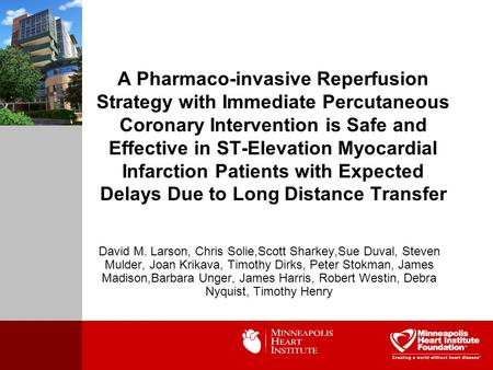 A Pharmaco-invasive Reperfusion Strategy with Immediate Percutaneous Coronary Intervention is Safe and Effective in ST-Elevation Myocardial Infarction.