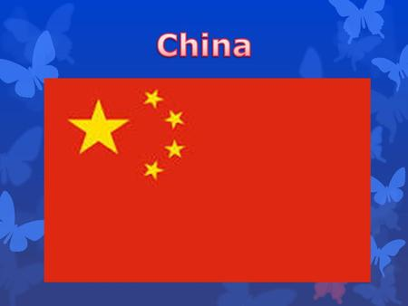 China officially the People's Republic of China, is a sovereign state located in East Asia. It is the world's most populous country, with a population.