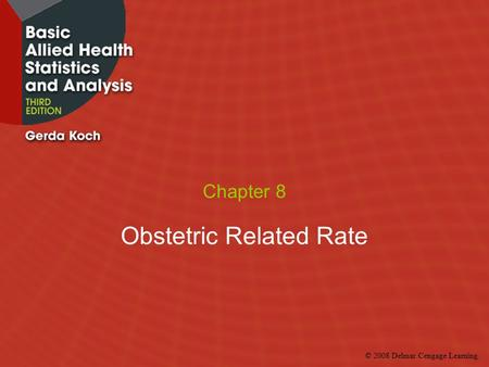 Obstetric Related Rate