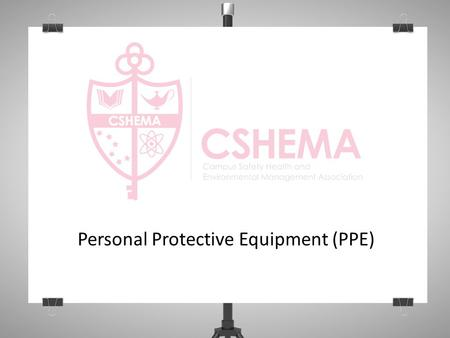 Personal Protective Equipment (PPE). Objectives Overview and definition of PPE Safety data sheets Types of PPE Appropriate selection and use.