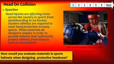 Head injuries are affecting teens across the country in sports from skateboarding to ice hockey. Student athletes are required to wear head protection.