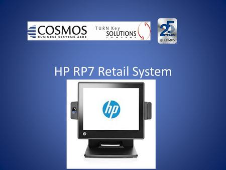 HP RP7 Retail System. VIDEO FOR HP RP7 (click for Video)