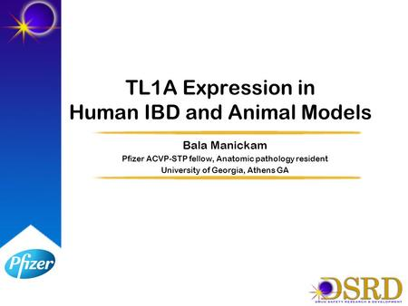TL1A Expression in Human IBD and Animal Models