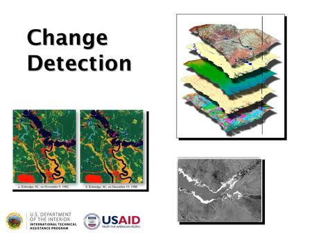 Change Detection. Digital Change Detection Biophysical materials and human-made features are dynamic, changing rapidly. It is believed that land-use/land-cover.