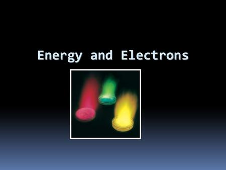 Energy and Electrons. Wave-Particle Duality JJ Thomson won the Nobel prize for describing the electron as a particle. His son, George Thomson won the.