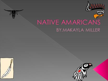 NATIVE AMARICANS BY.MAKAYLA MILLER.