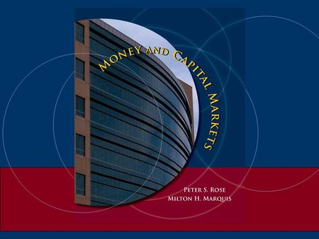 Chapter 17 Regulation Of The Financial Institutions' Sector.
