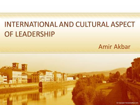an examination of the international and cultural diverse aspects of leadership Personal and professional growth are aspects of professional identity and are influential in the demonstration of leadership and the promotion of positive change in people, systems, and the profession of nursing (national league for nursing, 2010.