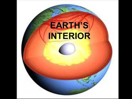 EARTH'S INTERIOR.