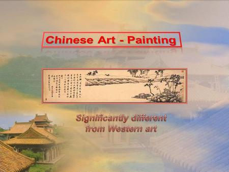 Chinese painting Chinese painting is one of the oldest continuous artistic traditions in the world. The earliest paintings were not representational but.