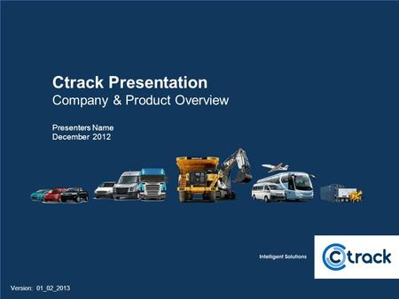 Ctrack Presentation Company & Product Overview