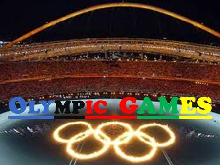 O LYMPIC GAMES. S YNCHRONIZED SWIMMING Synchronized swimming is a form of swimming, that mix dance and gymnastics, consisting of swimmers (duets, trios,