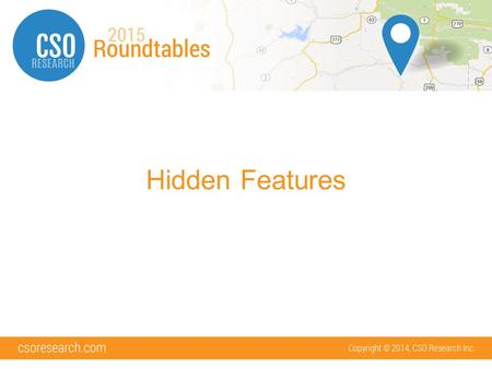 Hidden Features. What will we cover 16 hidden features for Admins Bonus: –2 hidden features for Employers –Live examples!