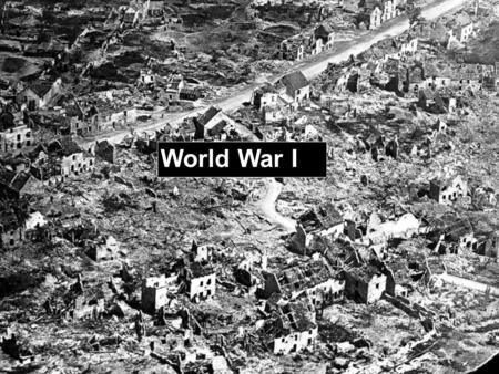 World War I. Causes of WWI – MANIA M ilitarism - policy of building up a strong military to prepare for war A lliances – agreements between nations to.