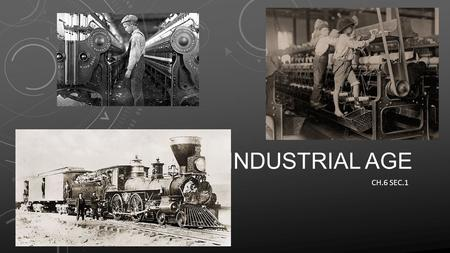 INDUSTRIAL AGE CH.6 SEC.1. NATURAL RESOURCES FUEL INDUSTRIALIZATION Post Civil War the U.S. was primarily agricultural By 1920s it was the leading industrial.