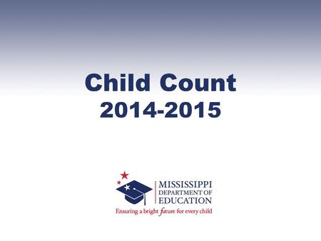 Child Count 2014-2015. 1.To check Child Count, run the Pre Cut-Off Student Roster by Teacher (Reports ->Special Education Data -> Student Data -> Pre.
