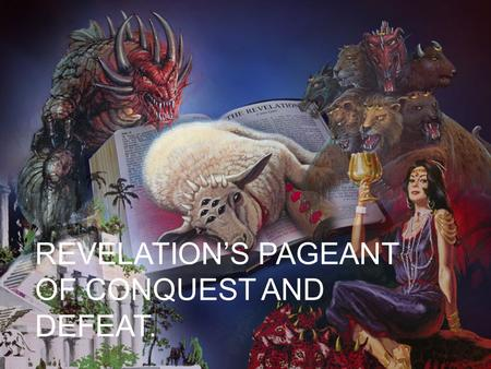 "REVELATION'S PAGEANT OF CONQUEST AND DEFEAT.. Climax of World History Q. 1) The ""silence in heaven"" of Revelation 8:1 takes place at the coming of Jesus."