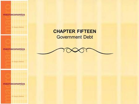 Chapter Fifteen1 CHAPTER FIFTEEN Government Debt.